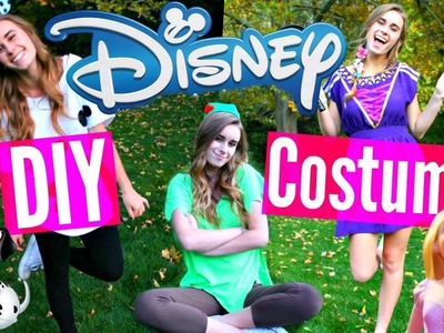 DIY Disney Halloween Costumes: Heros VS. Villains!