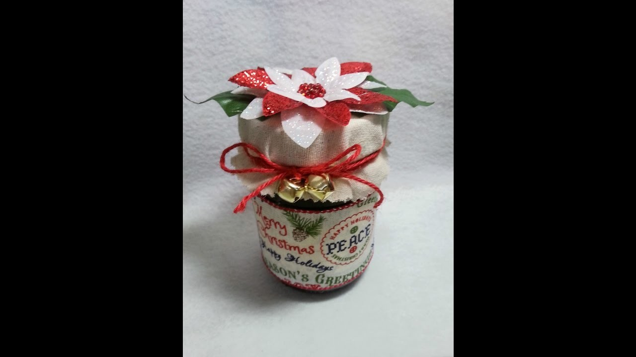 DIY~Embellish CUTE & Inexpensive Jams For Christmas Gifts!