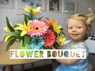 DIY FLOWER BOUQUET | Kids Florist Activity - Mummy Maker