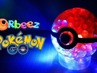 DIY GLOW ORBEEZ POKEBALL | POKEMON GO DIY COLLECTION- Halloween