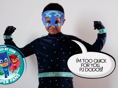 DIY Halloween Costume for PJ Masks villain NIGHT NINJA!!