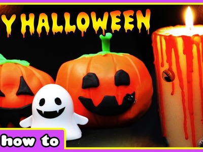 DIY Halloween Decorations - How To Make Pumpkins, Candles, Witch