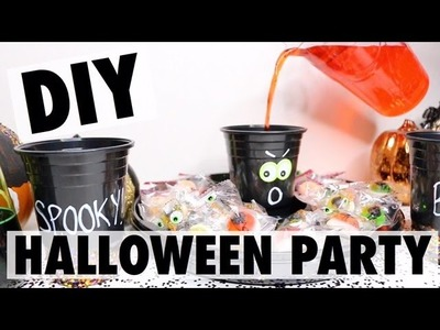 DIY HALLOWEEN PARTY IDEAS | Mercades Danielle