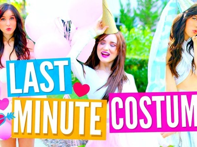 DIY Last Minute Halloween Costumes for TEENS! Easy & Cheap!!!