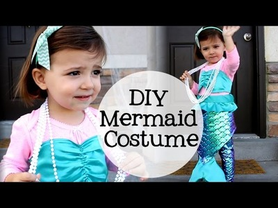 DIY Little Girl Mermaid Costume