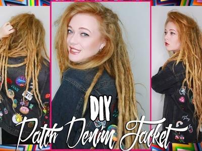 DIY Patch Jacket