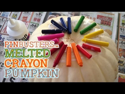 DIY Rainbow Crayon Pumpkin. DOES THIS ACTUALLY WORK?