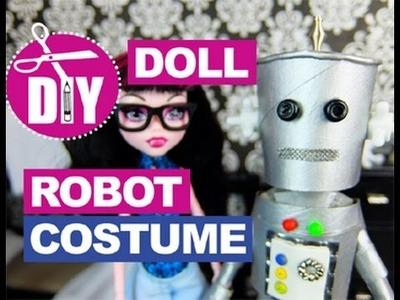 DIY Robot Costume for Dolls DOLL CRAFTS Halloween Costume Ideas