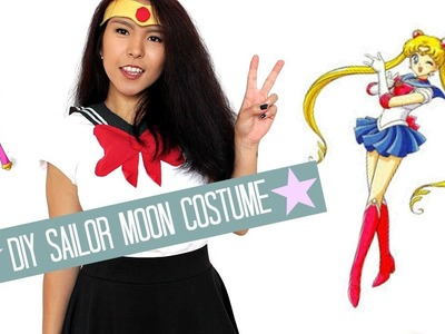 DIY Sailor Moon Character Costume | DIY&Howtos | kaaypumaa