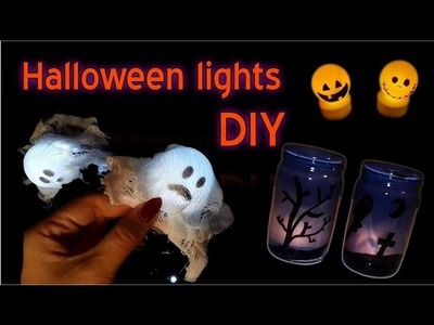 DIY Scary Halloween Lights ideas