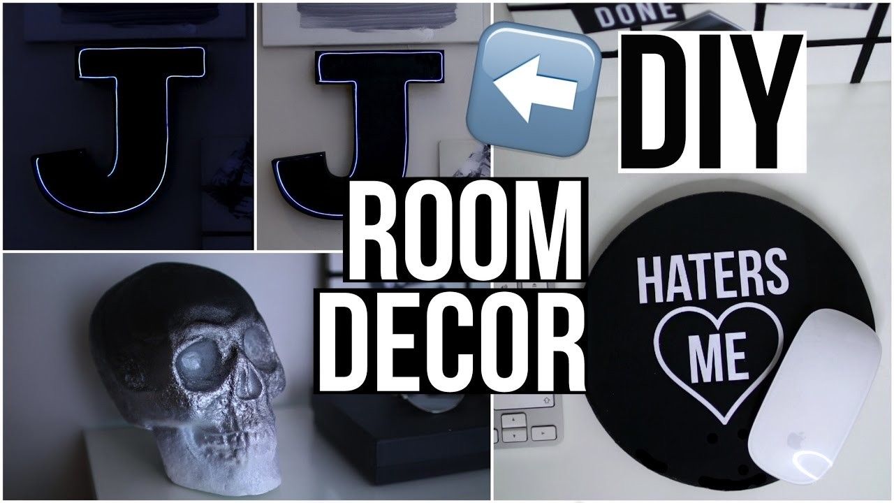 DIY Tumblr Room Decor 2016!! Diy Tumblr Desk Decor!