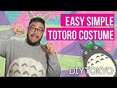 EASY DIY : TOTORO COSTUME (part 1)