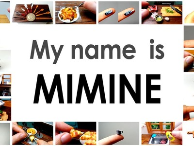 [ENG Sub] Welcome to the world of miniature!. Mimine Miniature