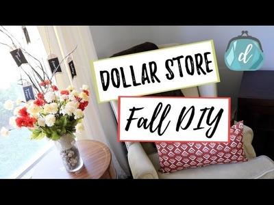 FALL DECOR | Dollar Tree DIY & Gratitude Tree
