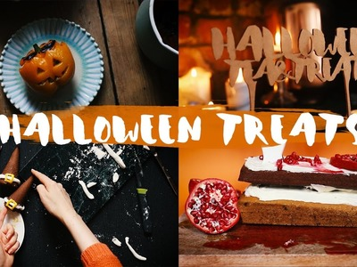 HALLOWEEN DIY: Süße Treats, Witch Hats, deftiger Snack & mehr