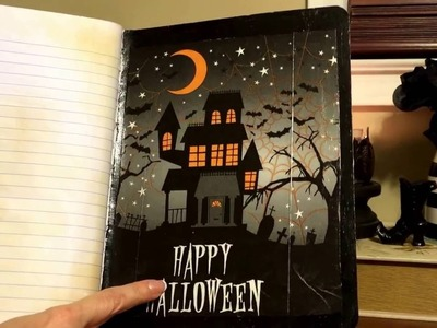 Halloween Journal DIY :)