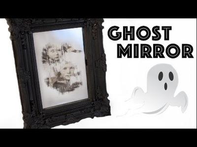Halloween Mirror DIY  - Ghost Mirror