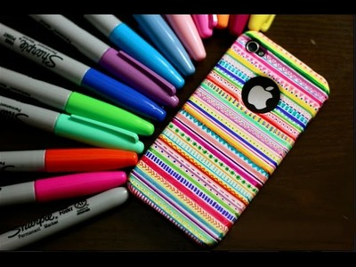 How To Design Your Own Phone Case - DIY !!