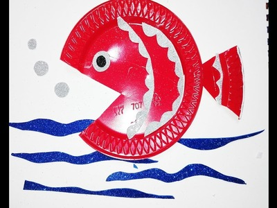 How to Draw a Cartoon Fish, How to Make Paper Fish