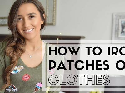 How to Iron Patches on Clothes || DIY