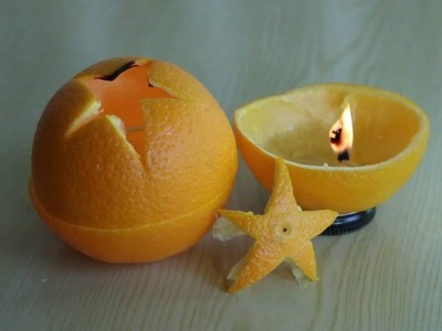 How to Make a Candle Without Wax or Wick - Fun Sience Experiment Project