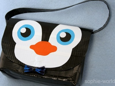 How to Make a Duct Tape Penguin Bag | Sophie's World