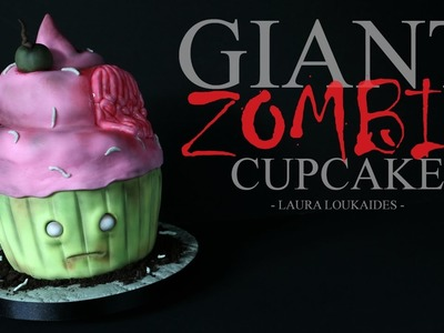 How to make a Giant Zombie Cupcake - Laura Loukaides