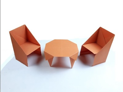 How to make a paper Table?