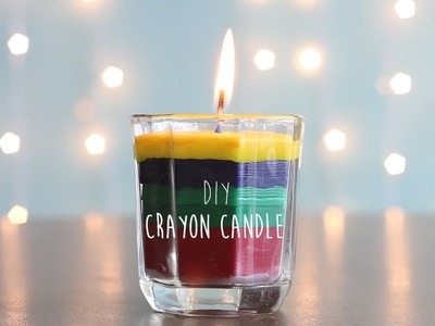 How to Make : Crayon Candle