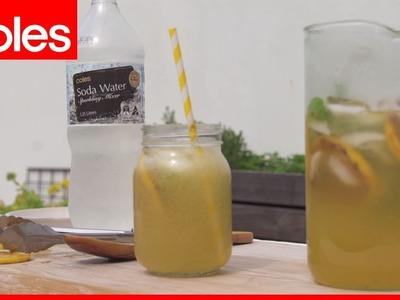 How to make Smoky Lemonade
