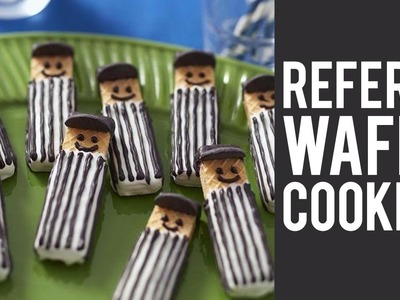 How to make Wafer Cookie Referees