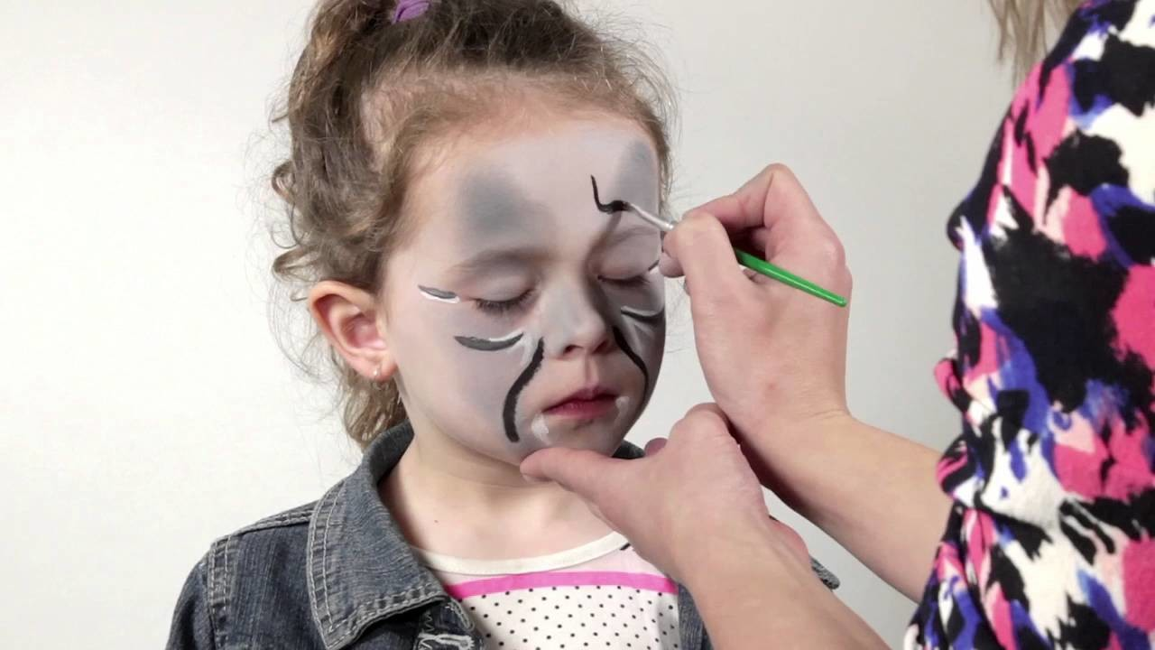 How to: Scary Facepainting