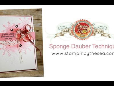 How to Use a Sponge Dauber to Create Soft Coloring