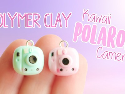 Kawaii Polaroid Camera│Polymer Clay Tutorial