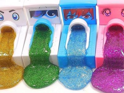 Learn Colors DIY How To Make Glitter Slime Poop Toilet Kids Children Toys Nursery Rhymes BINGO Song