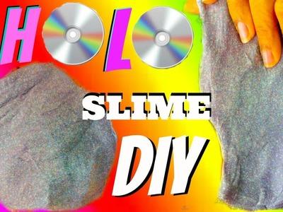 Making Holographic Slime (Make it Monday) Pure HOLO Slime DIY