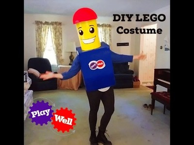 Making Your Own DIY LEGO Costume For Under $30