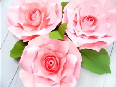 Paper Flower Rose. Smaller Regina style flower
