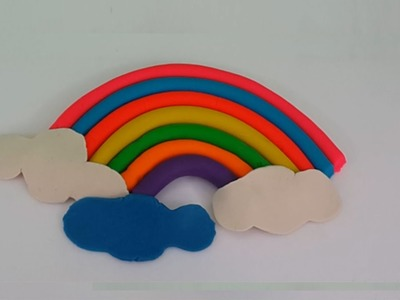 Play Doh Rainbow Play Doh Perfect Beautiful Rainbow How to Make Easy !
