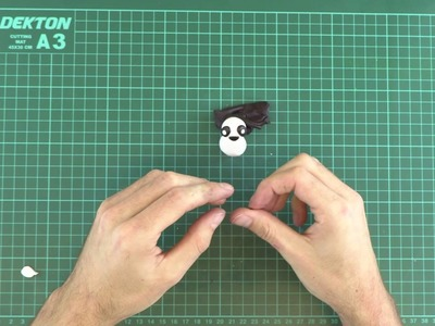 Polymer Clay Tutorial - Cute Panda