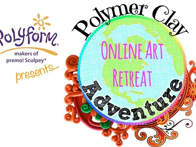 See the projects and techniques for Polymer Clay Adventure PCA 2017