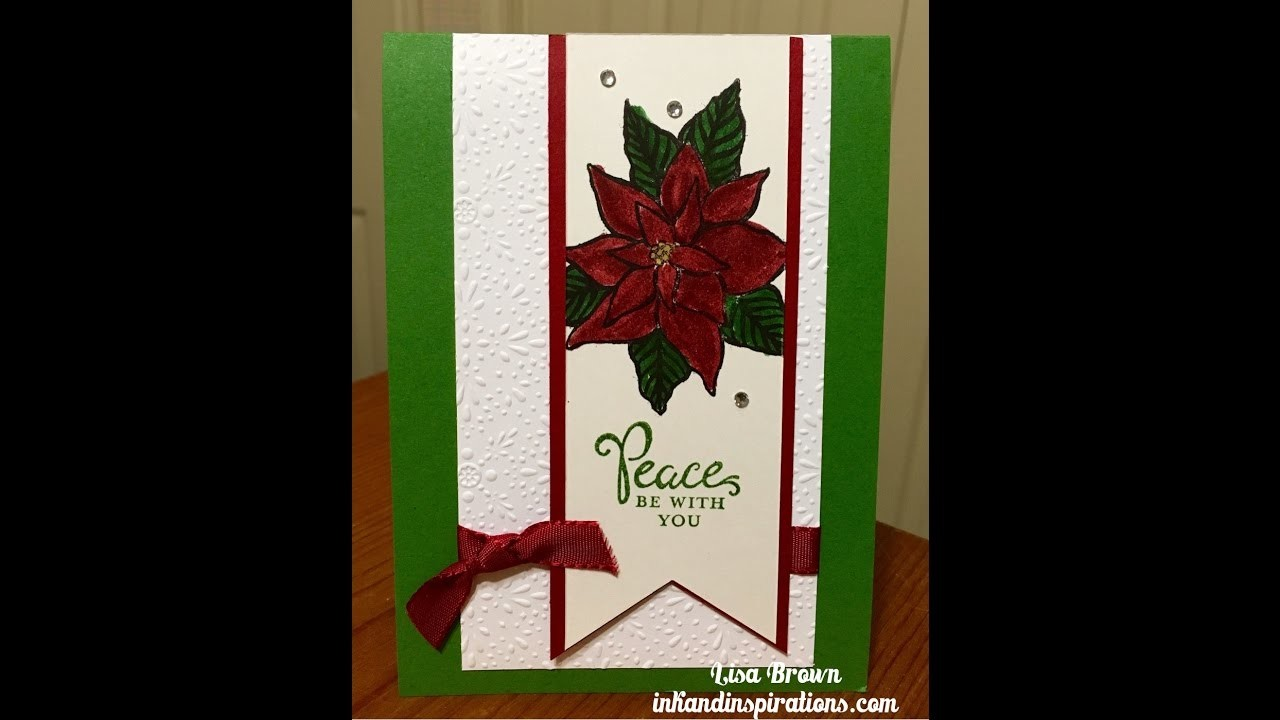 2016 Stampin' Up! Christmas Cards Video 3