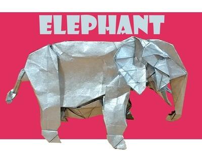 African Elephant Origami Tutorial (Shuki Kato)