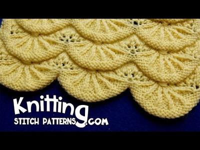 Alsacian Scallops   Pretty Lace Knitting #14