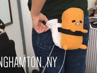BINGHAMTON VLOG: DIY GUDETAMA CHALK BAG | DAY 3 AND 4
