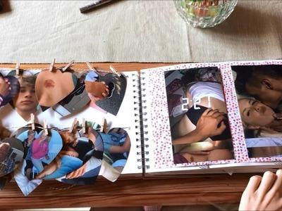 Birthday scrapbook for my boyfriend