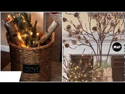 Christmas Door Decorations - Rustic Christmas Decor