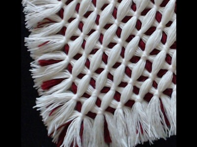 Criss cross blanket -  CRISS CROSS pattern