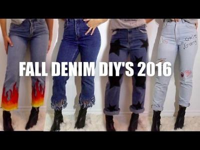 DENIM DIY'S 2016 | THREADSOBESSED