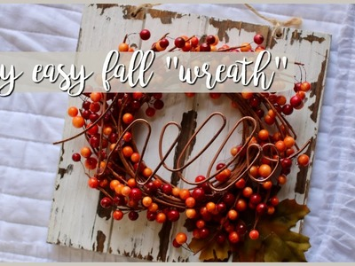 DIY Decor⎪Fall Inspired Wreath
